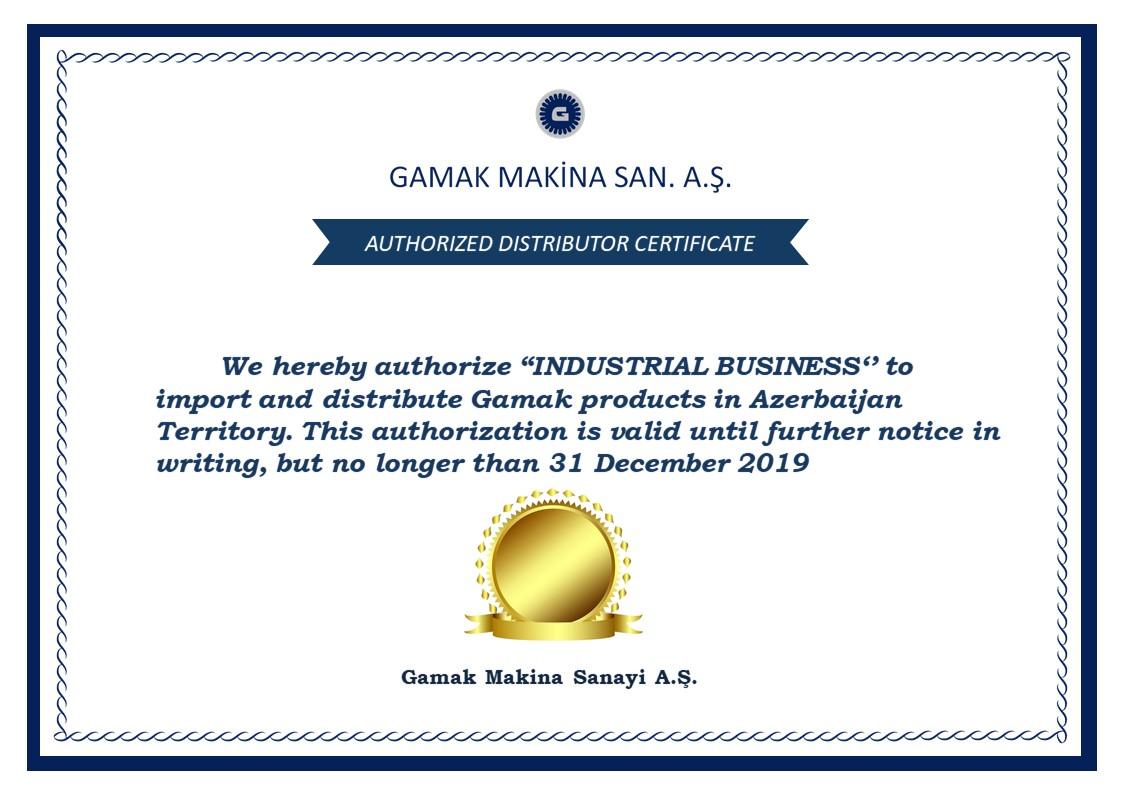 Gamak Makina Sanayi A.Ş.